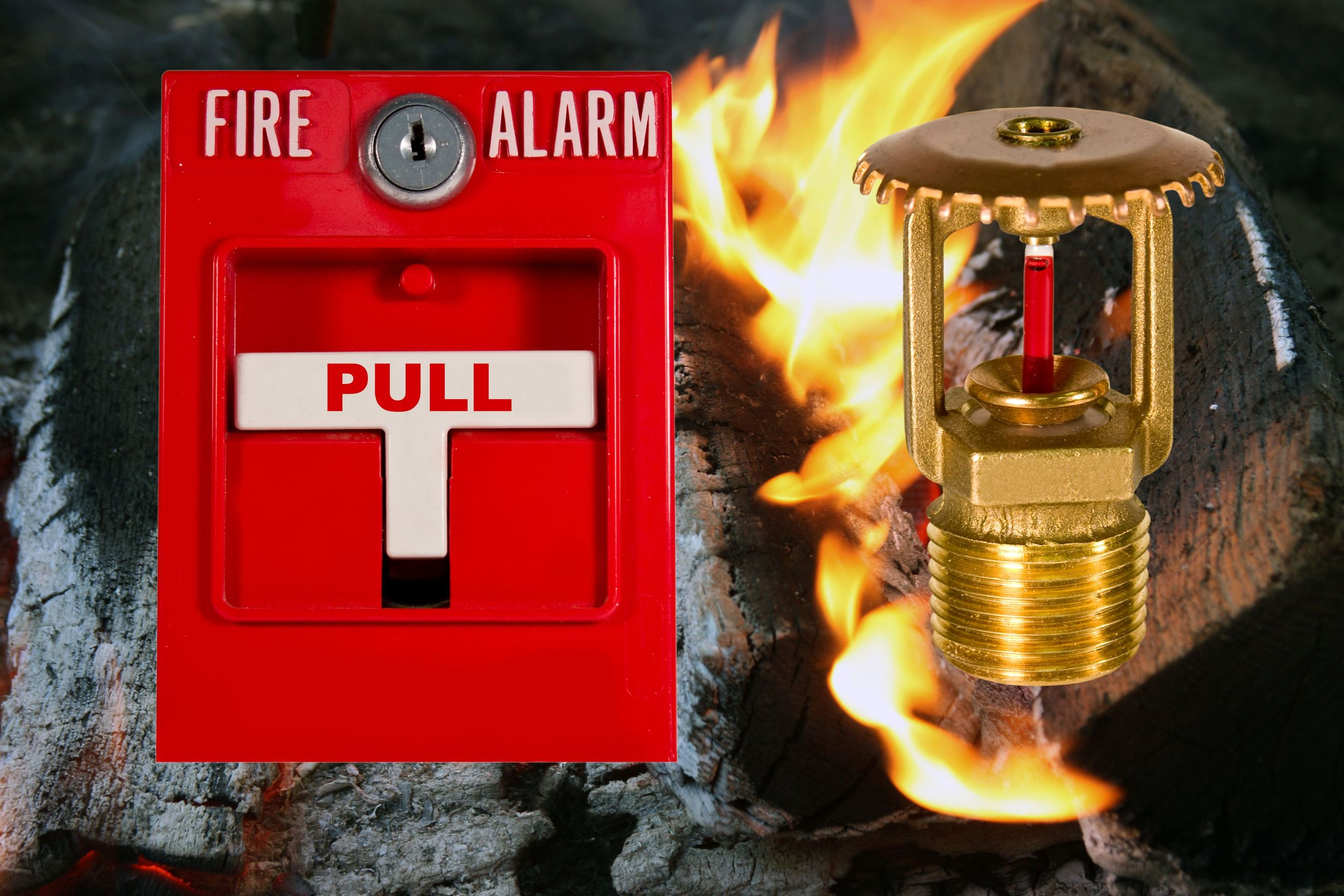 fire alarm and sprinkler monitoring
